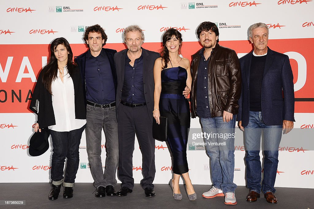 'L'Ultima Ruota Del Carro' Photocall - The 8th Rome Film Festival