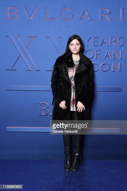 Elisa Fuksas attends the Bvlgari BZERO1 XX Anniversary Global Launch Event at Auditorium Parco Della Musica on February 19 2019 in Rome Italy