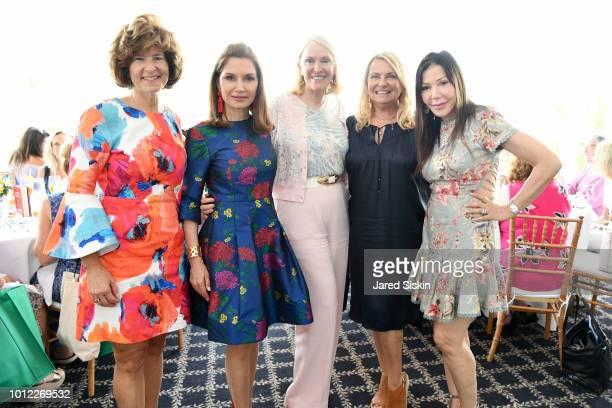 Elisa Greenbaum Jean Shafiroff Jule Morris Deborah Halpert and Jane Scher attend Hadassah Honors Jean Shafiroff As Woman Of The Year at Oceanbleu at...