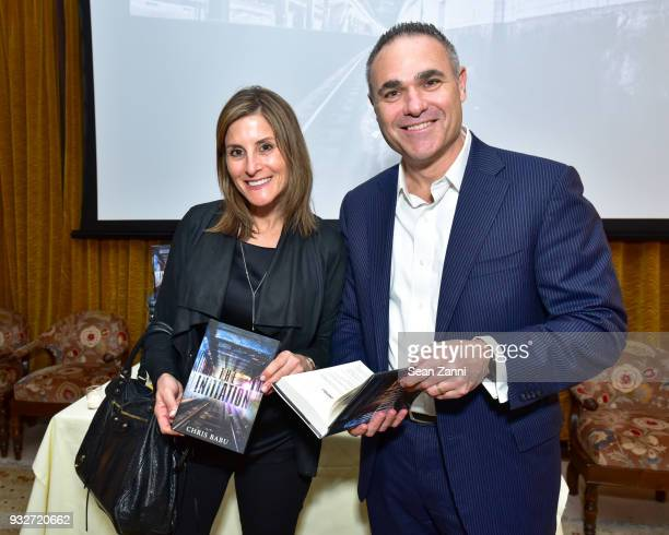 Elisa Hecht and Robert Hecht attend 'The Initiation' Book Launch at Bouley TK on March 15 2018 in New York City