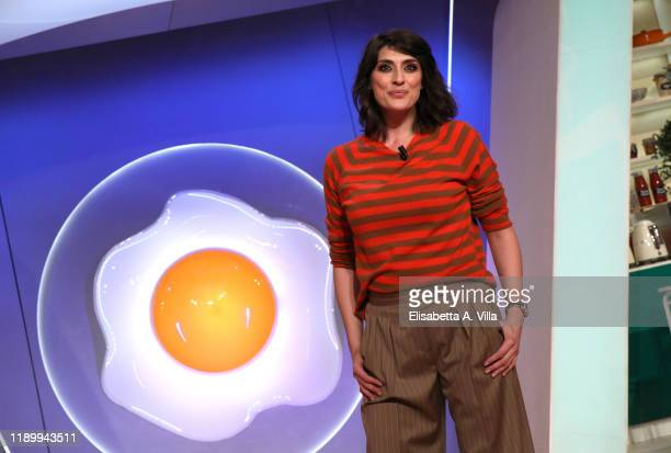 Elisa Isoardi attends La Prova Del Cuoco Tv Show on November 25 2019 in Rome Italy