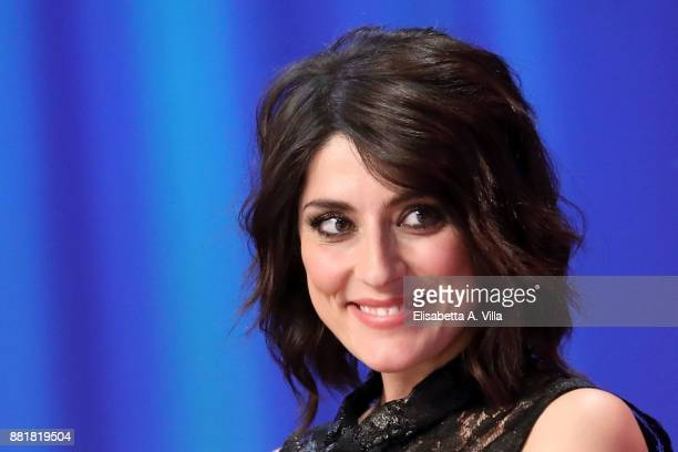 Elisa Isoardi attends 'Maurizio Costanzo Show' on November 29 2017 in Rome Italy