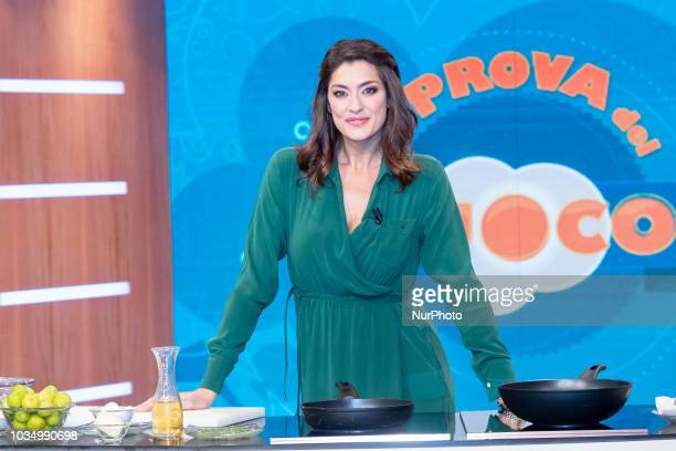 Elisa Isoardi The new conductor of quotLa Prova del Cuocoquot Elisa Isoardi debuts at the start of the show on Rai one since September 14th 2018