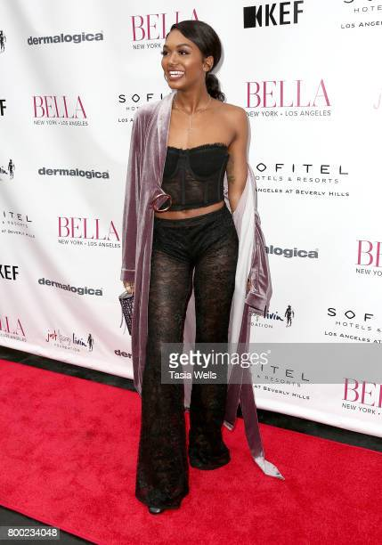 Elisa Johnson attends the BELLA Los Angeles Summer Issue Cover Launch Party at Sofitel Los Angeles At Beverly Hills on June 23 2017 in Los Angeles...