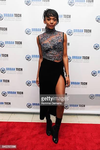 Elisa Johnson attends Urban Tech 2016 Gala Awards Dinner at Gustavino's on June 14 2016 in New York City