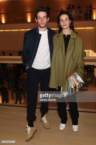 Elisa Lasowski and Josh O'Connor attend the Loewe Craft Prize 2018 at The Design Museum on May 3 2018 in London England