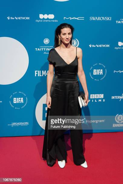 Elisa Lasowski attends the 21st British Independent Film Awards at Old Billingsgate in the City of London December 02 2018 in London United Kingdom