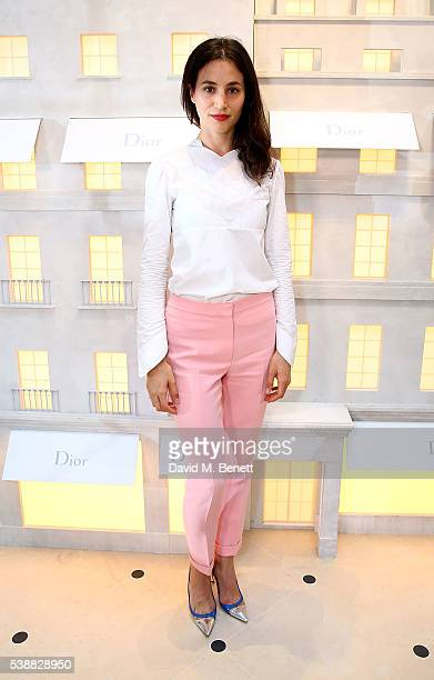 Elisa Lasowski attends the opening of the House Of Dior on New Bond Street on June 8 2016 in London England