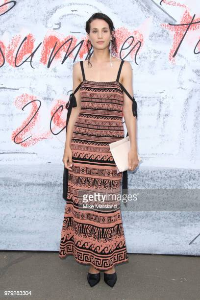 Elisa Lasowski attends The Serpentine Summer Party at The Serpentine Gallery on June 19 2018 in London England