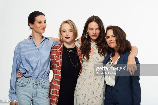 Elisa Lasowski Jessica Clark Anna Brewster and Suzanne Clement of Ovation's 'Versailles' pose for a portrait during the 2017 Summer Television...