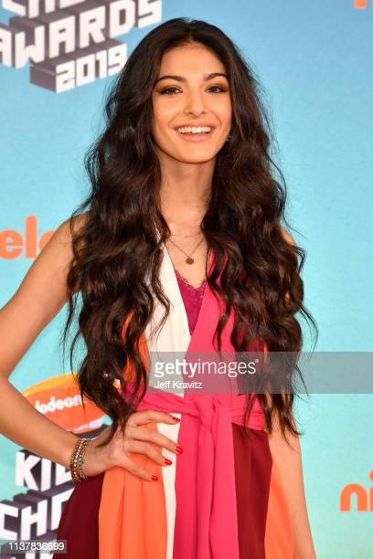 Elisa Maino attends Nickelodeon's 2019 Kids' Choice Awards at Galen Center on March 23, 2019 in Los Angeles, California.