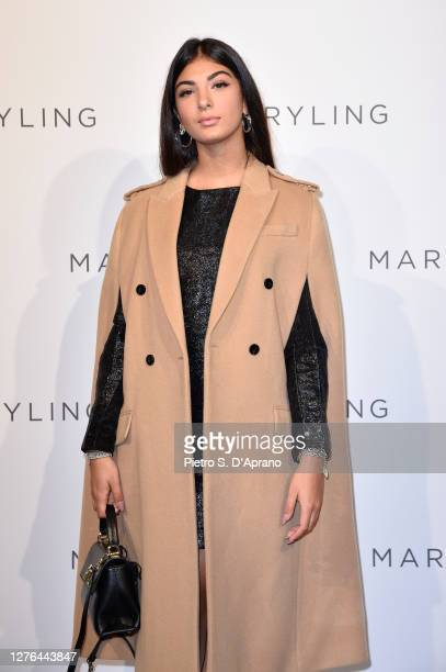 Elisa Maino attends the Maryling Fashion Show during the Milan Fashion Week Spring/Summer 2021 on September 23, 2020 in Milan, Italy.