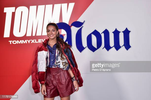 Elisa Maino attends the Tommy Hilfiger presentation in Milan during the Milan Fashion Week Spring/Summer 2020 on September 16, 2019 in Milan, Italy.