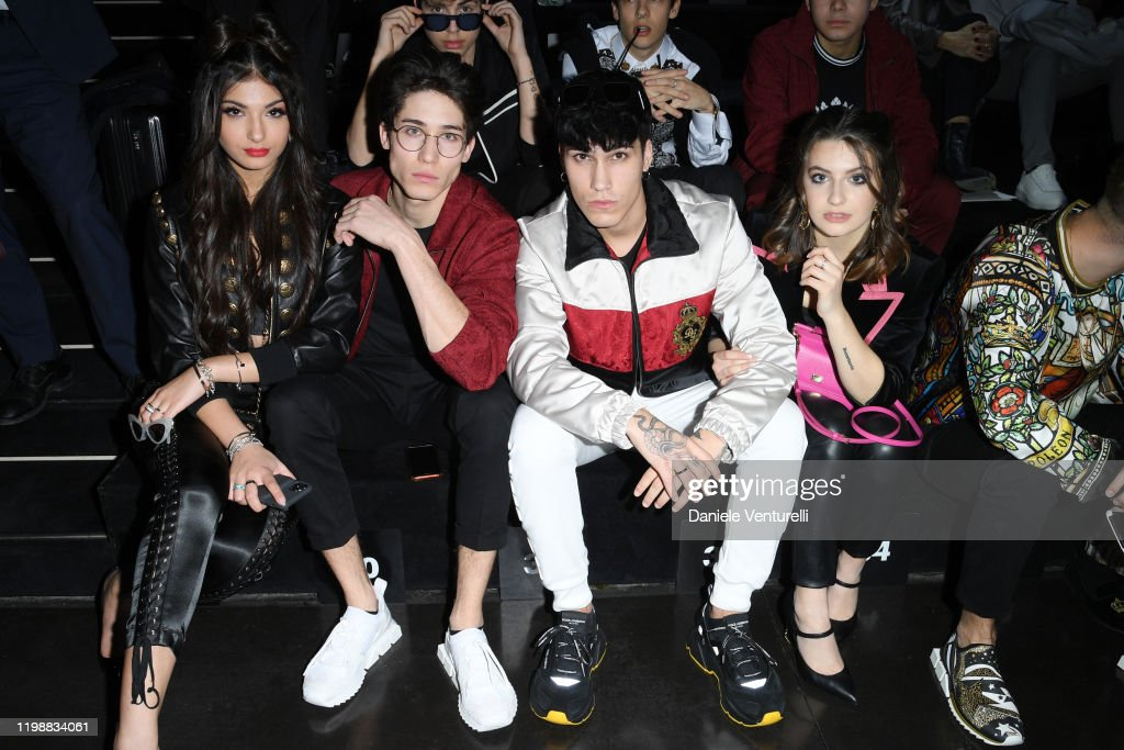 Dolce & Gabbana - Front Row - Milan Men's Fashion Week Fall/Winter 2020/2021 : Foto di attualità