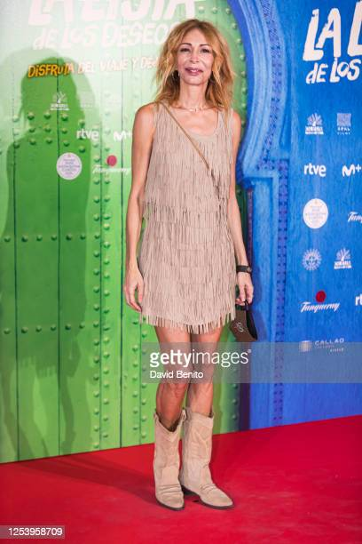 Elisa Matilla attends 'La Lista de Los Deseos' Madrid Premiere photocall at Callao City Lights cinema on July 2 2020 in Madrid Spain This is the...