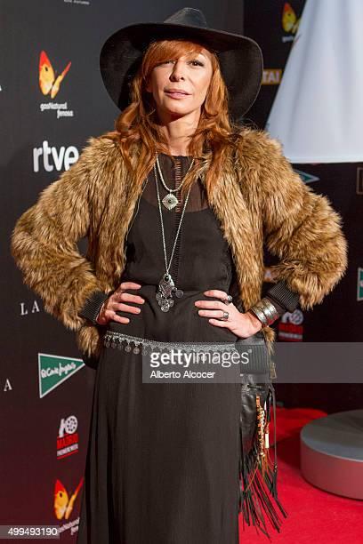Elisa Matilla attends 'La Novia' Madrid Premiere on December 1 2015 in Madrid Spain