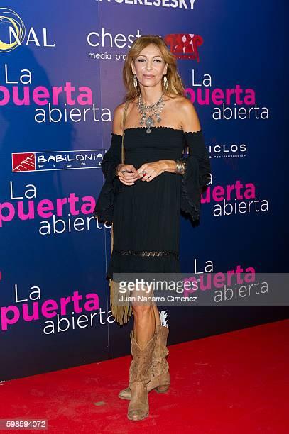 Elisa Matilla attends 'La Puerta Abierta' premiere at Palacio de la Prensa Cinema on September 1 2016 in Madrid Spain