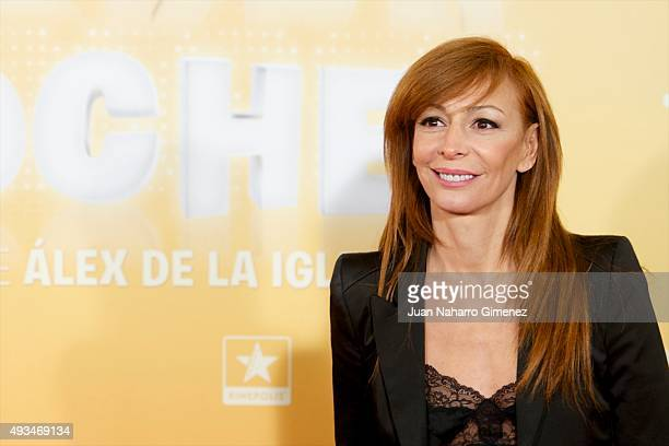 Elisa Matilla attends 'Mi Gran Noche' premiere at Kinepolis Cinema on October 20 2015 in Madrid Spain