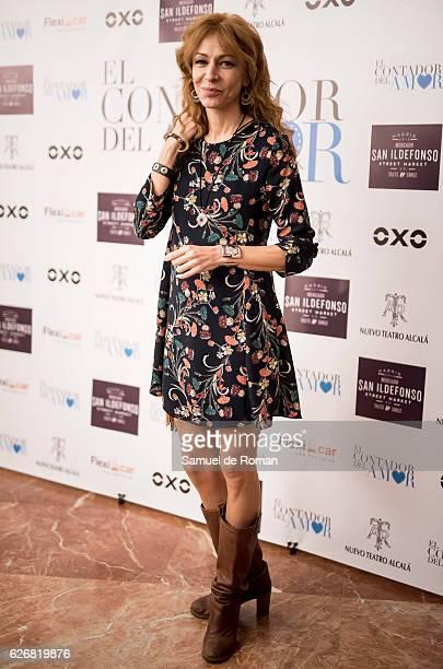 Elisa Matilla attends the 'El Contador Del Amor' Photocall Premiere on November 30 2016 in Madrid Spain