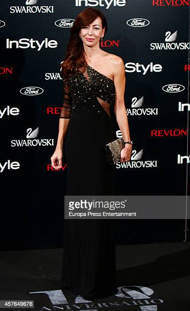 Elisa Matilla attends the InStyle Magazine 10th anniversary party on October 21 2014 in Madrid Spain