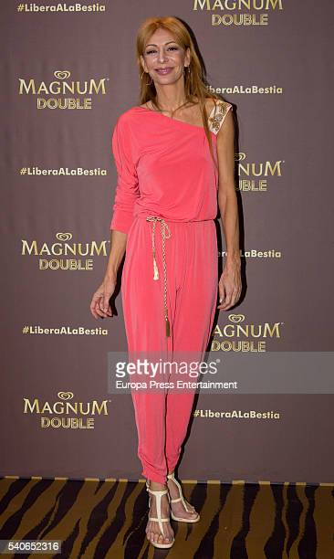 Elisa Matilla attends the 'Magnum summer' photocall at Me hotel on June 15 2016 in Madrid Spain