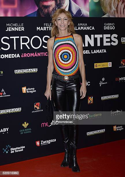 Elisa Matilla attends the 'Nuestros Amantes' premiere at Palafox cinema on May 30 2016 in Madrid Spain