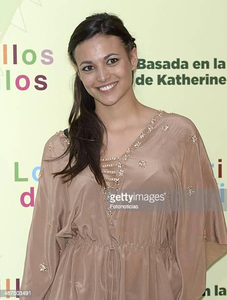Elisa Mouliaa attends the 'Los Ojos Amarillos de los Cocodrilos' premiere the Academia del Cine on April 30 2014 in Madrid Spain