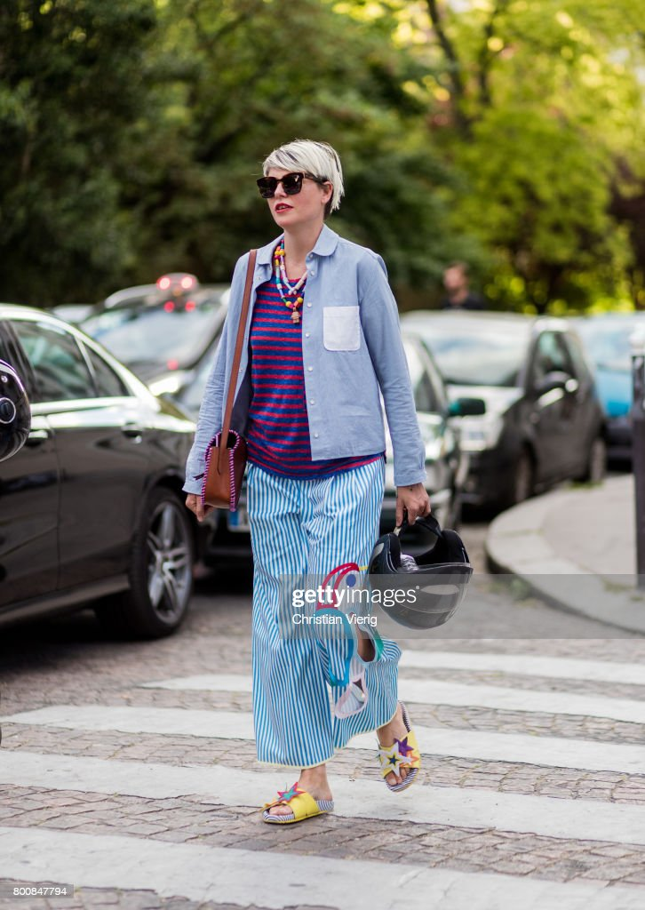 Street Style - Paris Fashion Week - Menswear Spring/Summer 2018 : Day Five