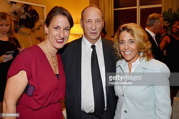 Elisa Ours Bruce Ratner and Pam Liebman attend the 30 Park Place Four Seasons Downtown Penthouse Unveiling at 30 Park Place on October 18 2016 in New...