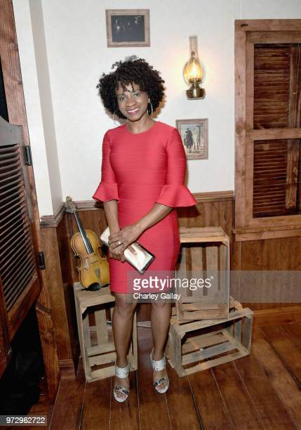 Elisa Perry attends Strong Black Lead party during Netflix FYSEE at Raleigh Studios on June 12 2018 in Los Angeles California