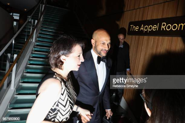 Elisa Pugliese and KeeganMichael Key attend the Time 100 Gala at Jazz at Lincoln Center on April 24 2018 in New York New York