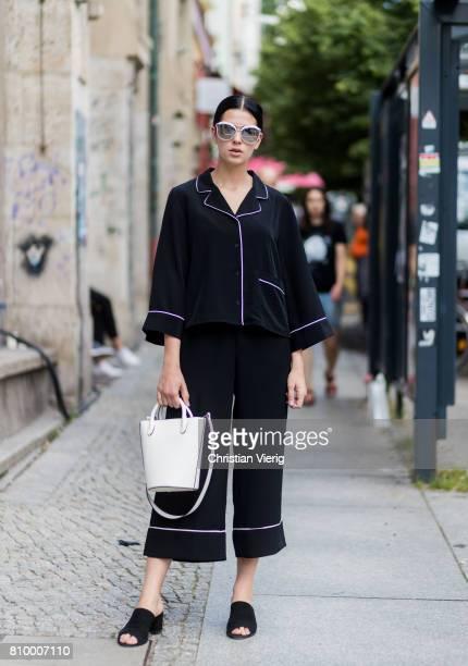 Elisa Schenke during the MercedesBenz Fashion Week Berlin Spring/Summer 2018 at Kaufhaus Jandorf on July 6 2017 in Berlin Germany