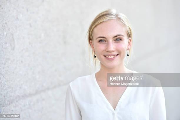 Elisa Schlott attends 'Das Verschwinden' Premiere during Munich Film Festival 2017 at HFF Muenchen on June 26, 2017 in Munich, Germany.