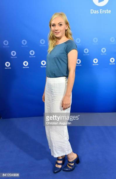 Elisa Schlott poses during the photo call for 'Das Verschwinden' at the Hotel Atlantic on August 31 2017 in Hamburg Germany