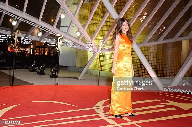 Elisa Sednaoui attends 'Cinecoles Jury members' Photocall 14th Marrakech International Film Festival on December 12 2014 in Marrakech Morocco