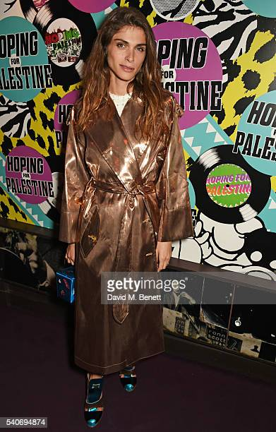 Elisa Sednaoui attends 'Hoping's Greatest Hits' the 10th anniversary of The Hoping Foundation's fundraising event for Palestinian refugee children...