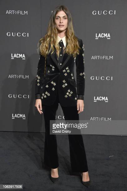 Elisa Sednaoui attends LACMA Art Film Gala 2018 at Los Angeles County Museum of Art on November 3 2018 in Los Angeles CA