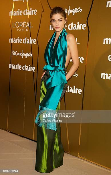 Elisa Sednaoui attends Marie Claire Prix de la Moda awards 2011 at French Embassy on November 17 2011 in Madrid Spain