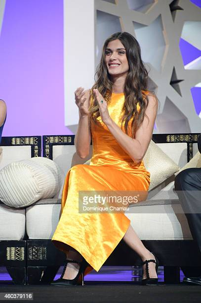 Elisa Sednaoui attends the Cinecoles Award during the 14th Marrakech International Film Festival on December 12 2014 in Marrakech Morocco