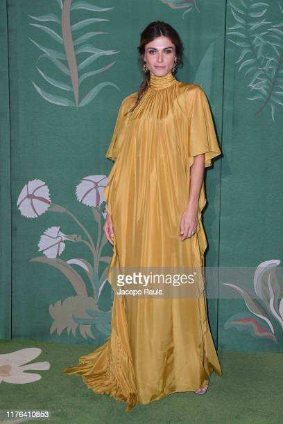 Elisa Sednaoui attends the Green Carpet Fashion Awards during the Milan Fashion Week Spring/Summer 2020 on September 22, 2019 in Milan, Italy.