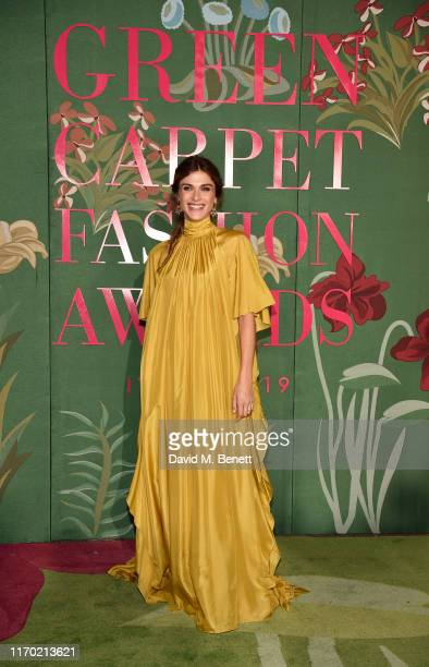 Elisa Sednaoui attends The Green Carpet Fashion Awards, Italia 2019, hosted by CNMI & Eco-Age, at Teatro Alla Scala on September 22, 2019 in Milan,...