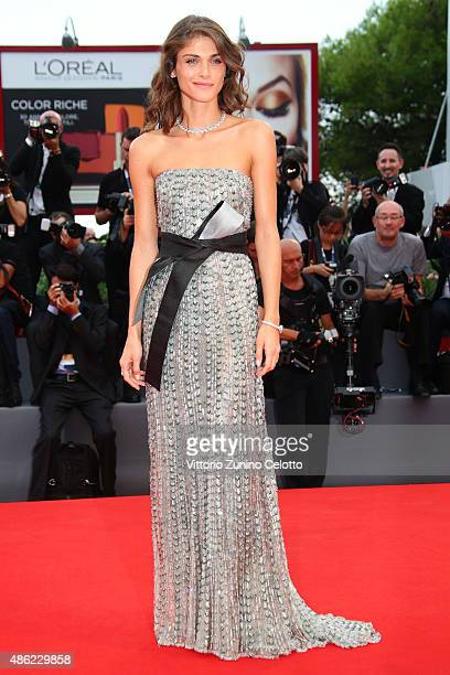 Elisa Sednaoui attends the opening ceremony and premiere of 'Everest' during the 72nd Venice Film Festival on September 2 2015 in Venice Italy