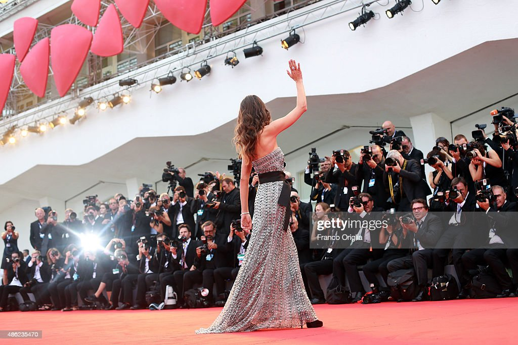 Elisa Sednaoui attends the opening ceremony and premiere of 'Everest' during the 72nd Venice Film Festival on September 2, 2015 in Venice, Italy.