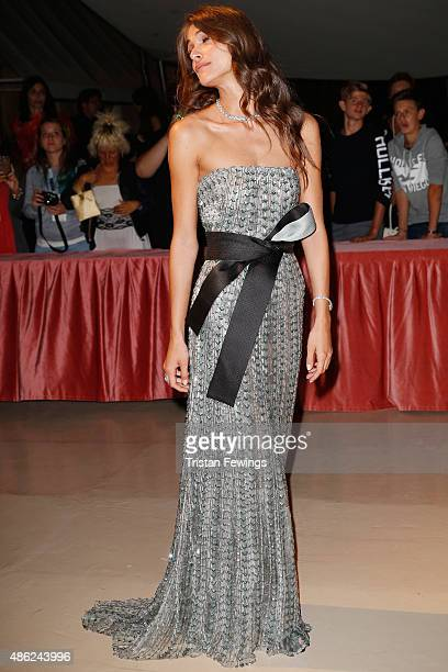 Elisa Sednaoui attends the opening dinner during the 72nd Venice Film Festival on September 2 2015 in Venice Italy