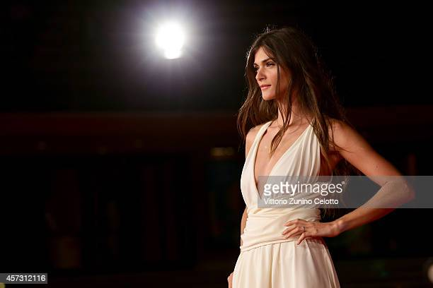 Elisa Sednaoui attends the Rome Film Festival Opening and 'Soap Opera' Red Carpet during the 9th Rome Film Festival at Auditorium Parco Della Musica...