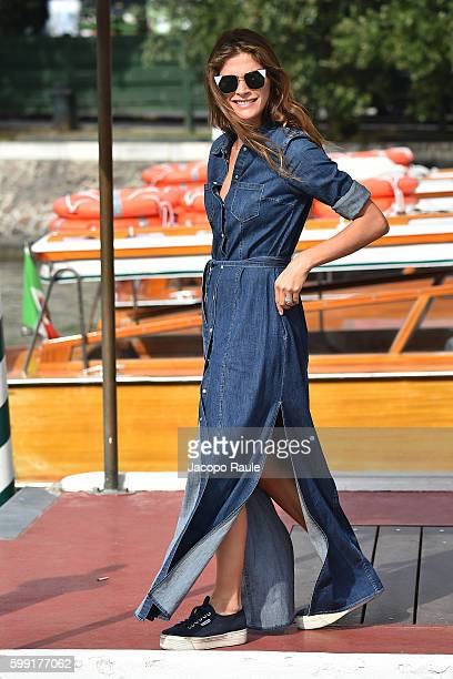 Elisa Sednaoui is seen during the 73rd Venice Film Festival on September 4 2016 in Venice Italy