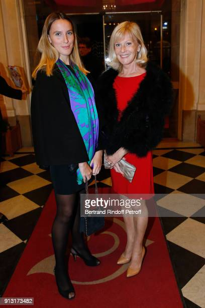 """Elisa Servier and her daughter Manon de Toledo attend the """"Heart Gala"""" Evening to benefit the """"Mecenat Chirurgie Cardiaque"""" at Salle Gaveau on..."""