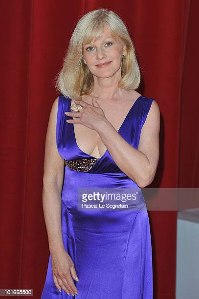 06 06 Elisa Servier arrives to attend the opening night of the 2010 Monte Carlo Television Festival held at Grimaldi Forum on June 6 2010 in...