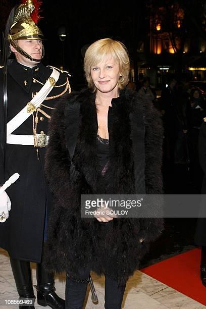 Elisa Servier in Paris, France on November 21, 2006.