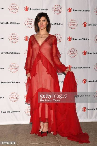Elisa Toffoli attends Save The Children Charity Party on November 15 2017 in Milan Italy